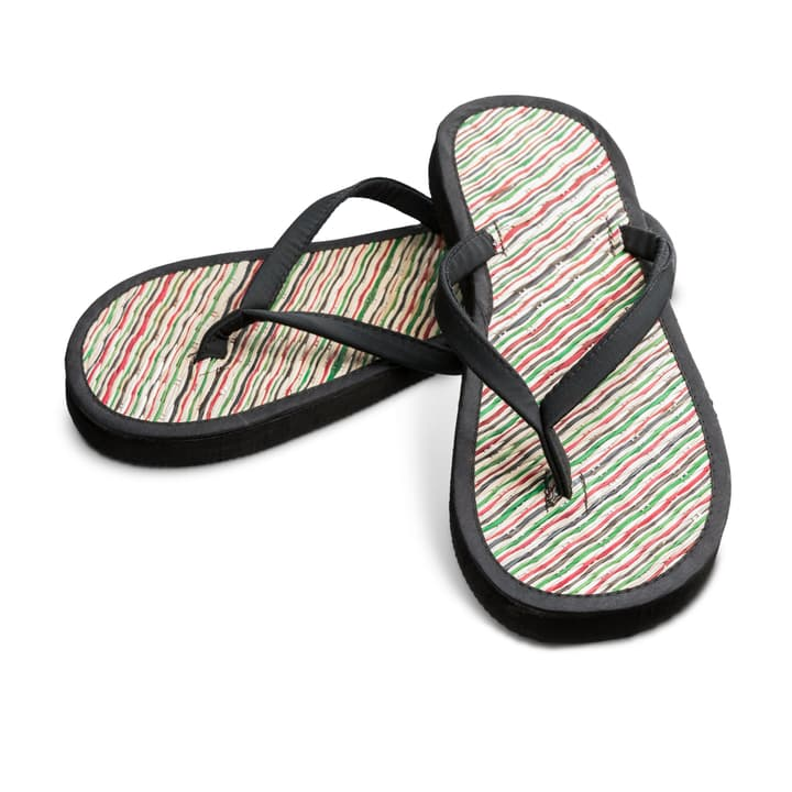 EDINA flip flop (38/39) 374141103820 Couleur Noir Photo no. 1