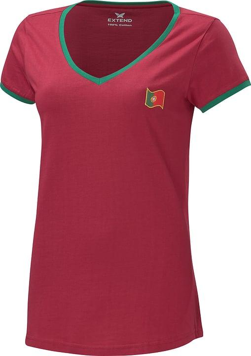 Portugal Fussball-Damen-Fan-Shirt Extend 498284200488 Farbe bordeaux Grösse M Bild-Nr. 1