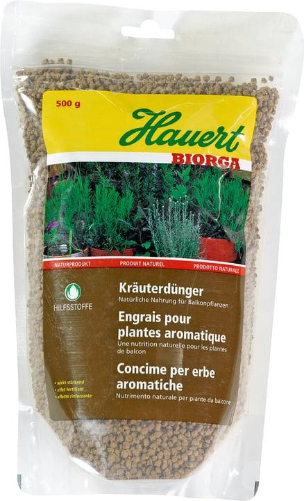 Biorga Kräuterdünger, 500g Hauert 658207700000 Bild Nr. 1