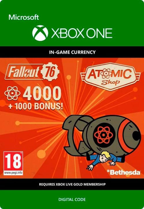 Xbox One - Fallout 76: 4K (+1000 Bonus) Download (ESD) 785300140343 Photo no. 1