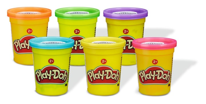 Petits pots individuels Play Doh 746130500000 Photo no. 1
