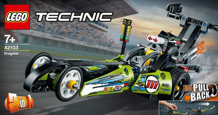 LEGO 42103 Dragster 748731100000 N. figura 1