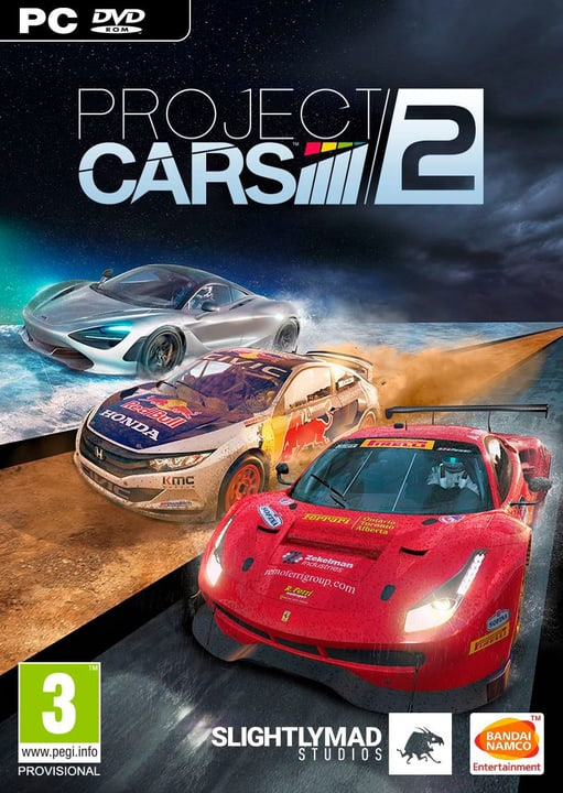 PC - Project CARS 2 Fisico (Box) 785300122506 N. figura 1