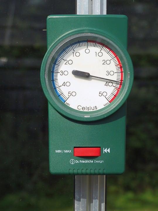 VITAVIA Thermometer Gewächshaus 631353300000 Bild Nr. 1