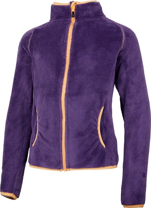 Mädchen-Kuschelfleece-Jacke Trevolution 466928715249 Farbe dunkelviolett Grösse 152 Bild-Nr. 1