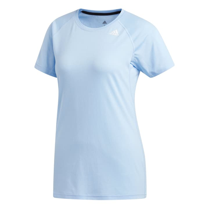 Tech Prime 3S T Shirt pour femme Adidas 464957700641 Couleur bleu claire Taille XL Photo no. 1