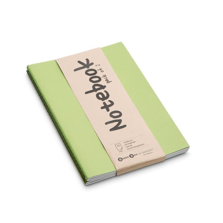 NOTE Notizbuch 2 Stk. A5 386159300000 Farbe Hellgrün Grösse B: 21.0 cm x T: 15.0 cm Bild Nr. 1