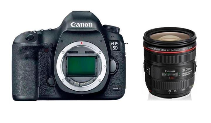 EOS 5D Mark IV + EF 24-70mm 4L Spiegelreflexkamera Kit Canon 785300126138 Bild Nr. 1
