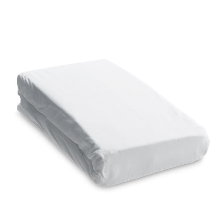 JERSEY DOUBLE-SPLIT-TOPPER Lenzuolo con angoli 376070930410 Dimensioni L: 200.0 cm x L: 160.0 cm Colore Bianco N. figura 1