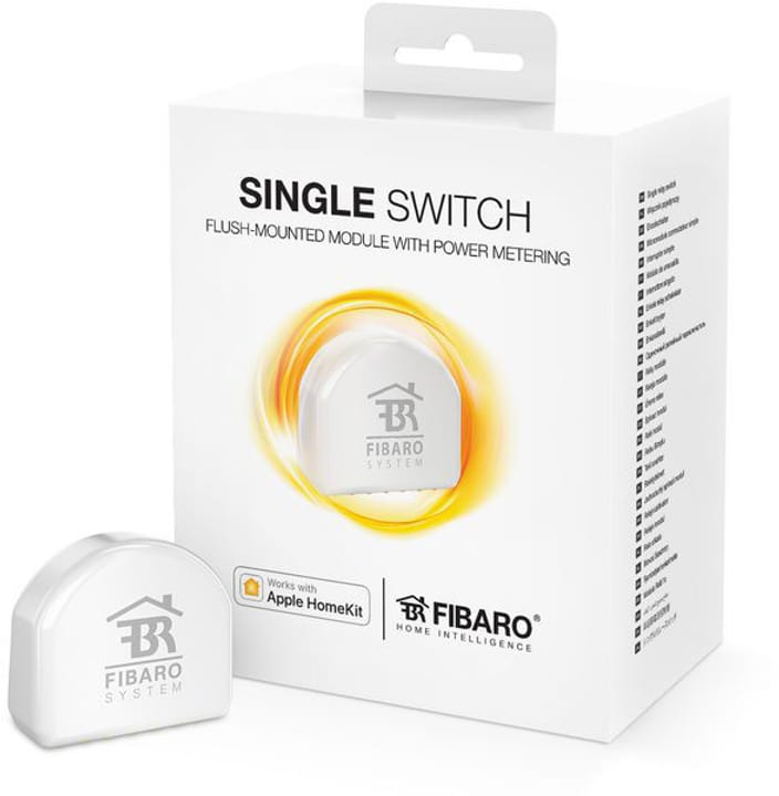 Fibaro HomeKit Single Switch - kaufen bei melectronics.ch