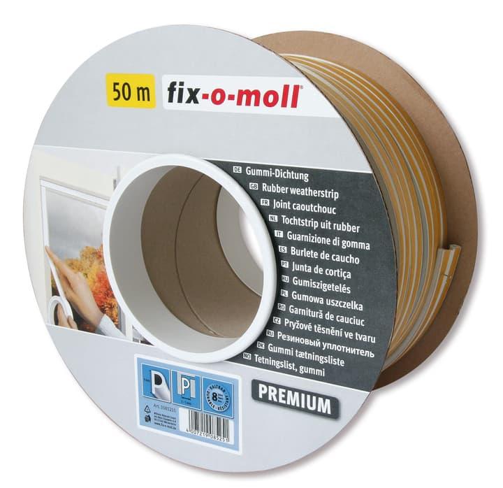 P-Profil Gummi Dichtung 9x5mm x 50m Fix-O-Moll 673006900000 Bild Nr. 1
