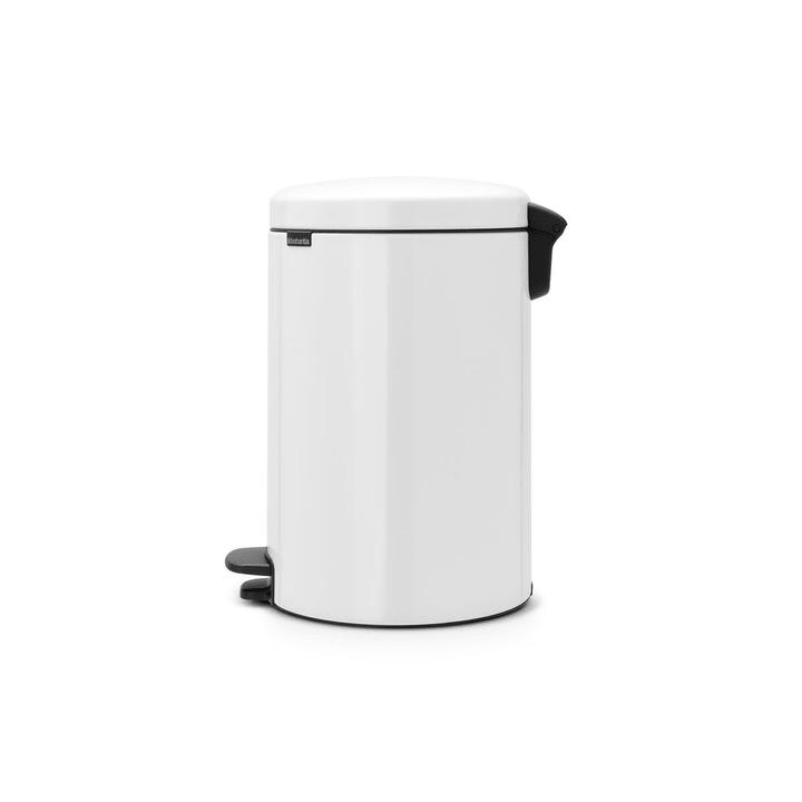 NEWICON poubelle brabantia 386233900000 Dimensions L: 38.0 cm x P: 29.0 cm x H: 46.7 cm Couleur Blanc Photo no. 1