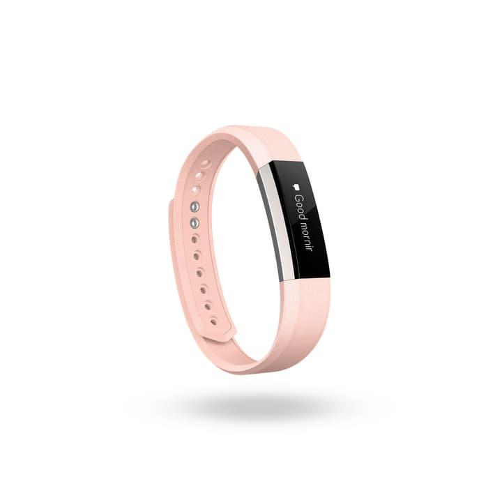 Alta bracciale di cuoio rosa fucsia S Fitbit 798118700000 N. figura 1