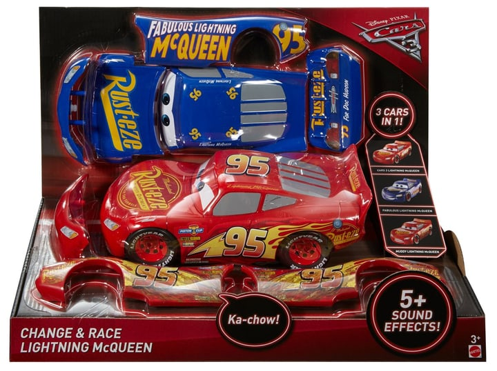 Disney Cars 3 Flash McQueen 3 en 1 747441400000 Photo no. 1