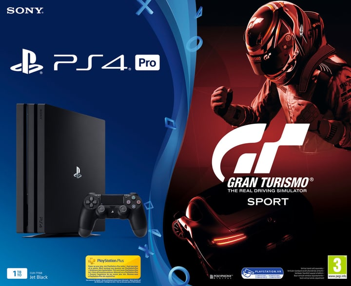 PlayStation 4 Pro 1To incl. GT Sport Sony 785438100000