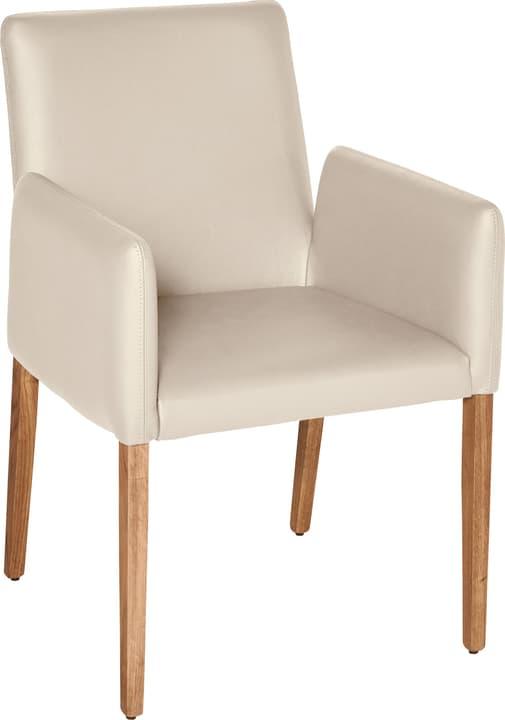 PIRAS Chaise 402358000074 Dimensions L: 58.0 cm x P: 55.0 cm x H: 86.0 cm Couleur Beige Photo no. 1