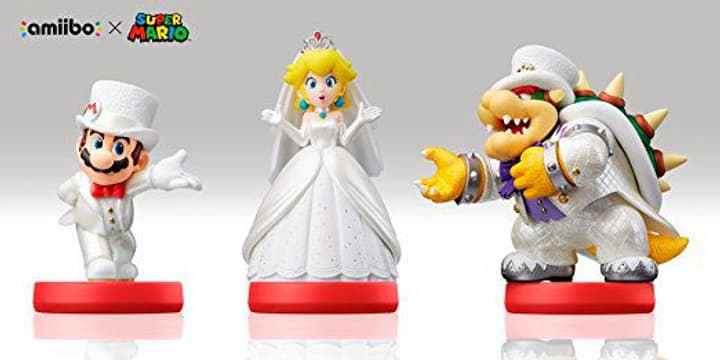 amiibo Super Mario Odyssey Character - Mario, Peach, Bowser 785300128755 Bild Nr. 1