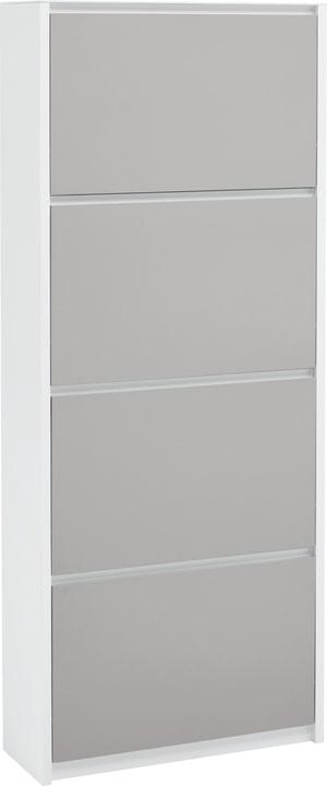 TORI Schuhkippe 407330100000 Grösse B: 68.0 cm x T: 24.8 cm x H: 166.0 cm Farbe Grau / Weiss Bild Nr. 1
