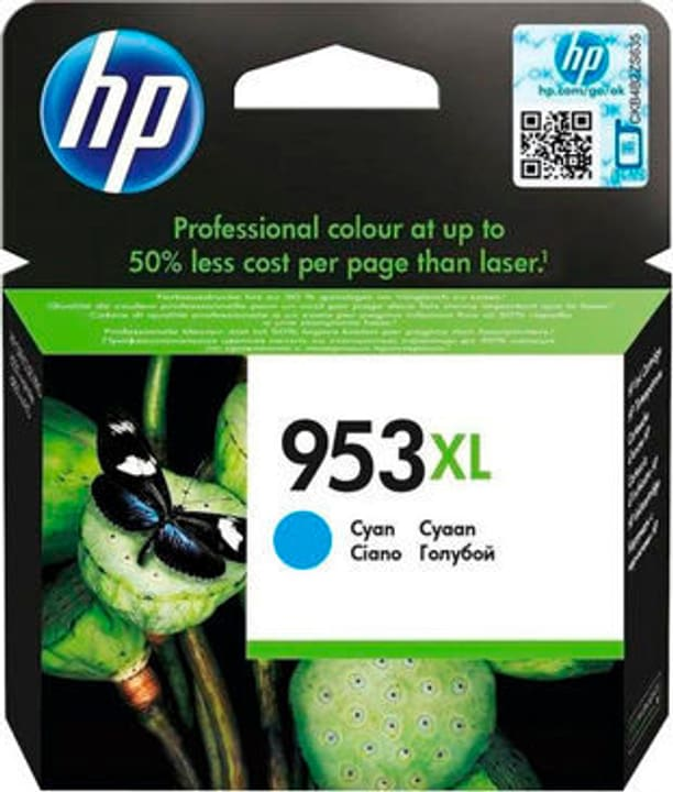 cartouche d'encre 953XL F6U16AE cyan HP 795850500000 Photo no. 1