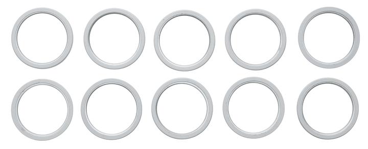 WEISS Vorhangringe 430562500010 Farbe Weiss Bild Nr. 1