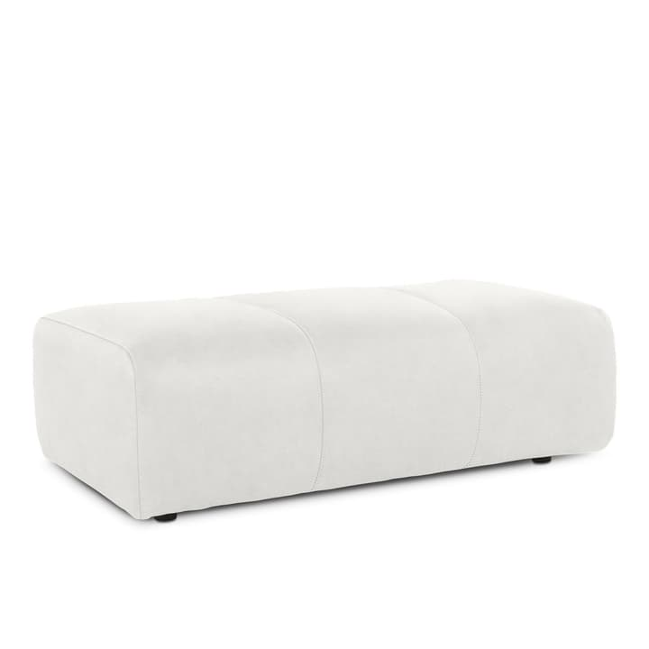 CAMP pouf 360020962304 Dimensions L: 132.0 cm x P: 74.0 cm x H: 43.0 cm Couleur Blanc Photo no. 1