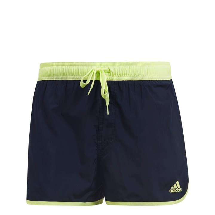 split short Short de bain pour homme Adidas 463102000343 Couleur bleu marine Taille S Photo no. 1