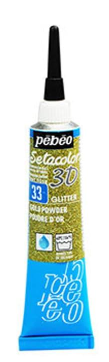 Sétacolor 3D 20ml Metal Pebeo 665469200000 Couleur Glitter Poudre d'Or Photo no. 1