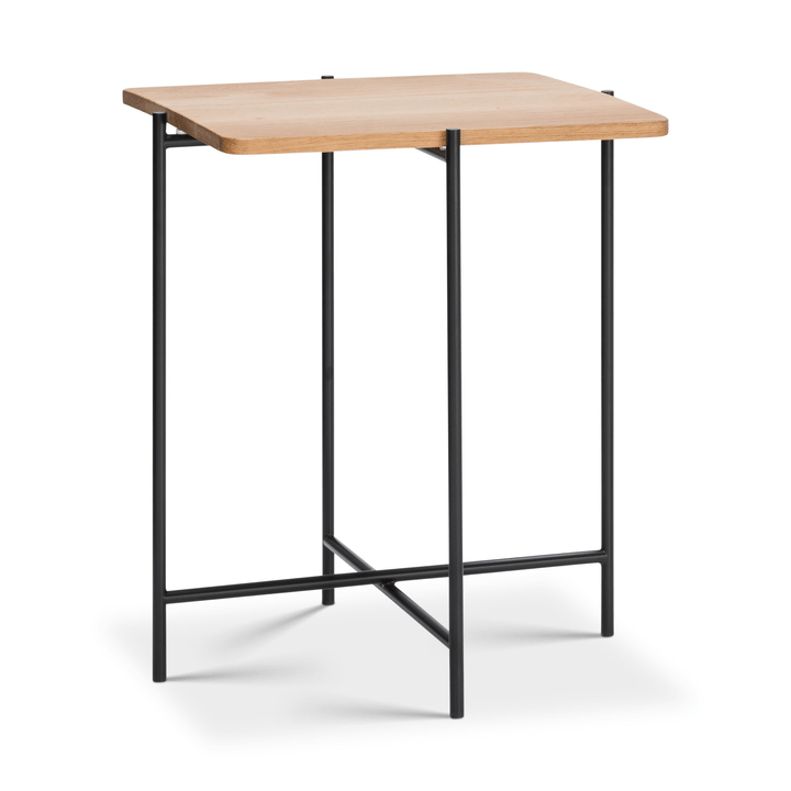 ELLY Table basse 362254500000 Couleur Chêne Dimensions L: 40.0 cm x P: 40.0 cm x H: 48.0 cm Photo no. 1