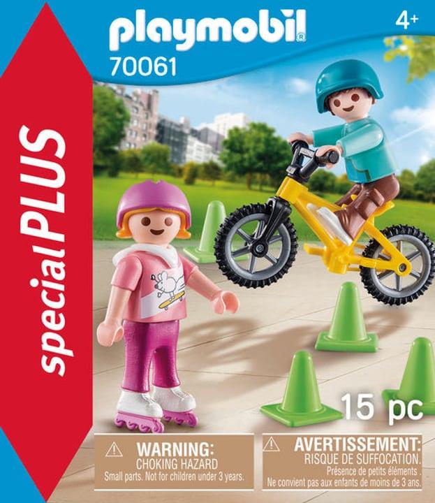 PLAYMOBIL 70061 Bambini con pattini 748010000000 N. figura 1