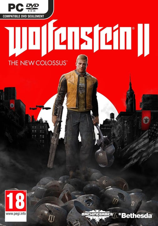 PC - Wolfenstein II: The New Colossus Box 785300129181 N. figura 1
