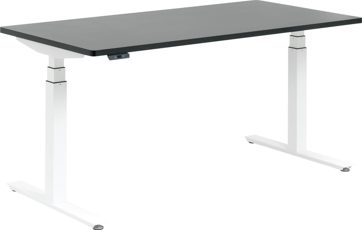 FLEXCUBE Bureau 401838400000 Dimensions L: 200.0 cm x P: 80.0 cm x H: 75.0 cm Couleur Noir Photo no. 1