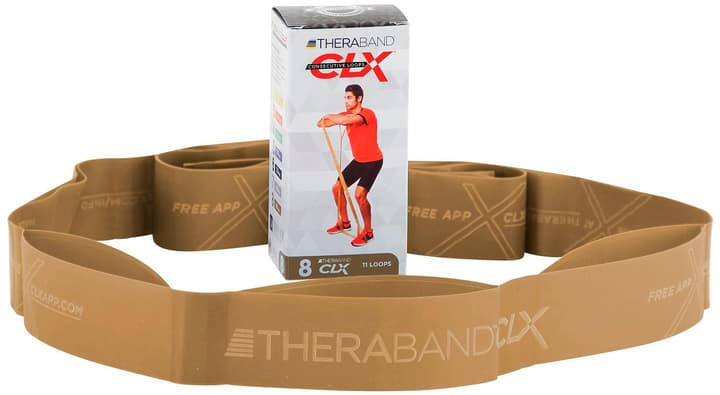 Theraband  CLX 8 Theraband Thera-Band 471988999994 Couleur or Taille one size Photo no. 1