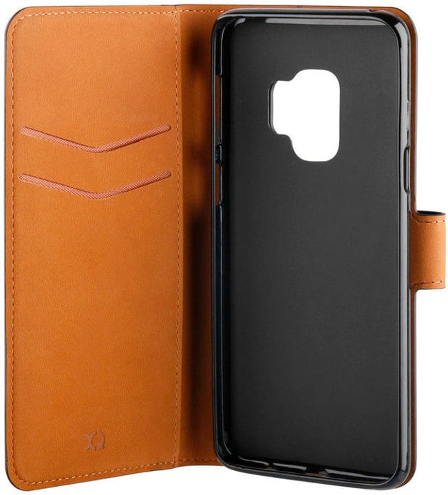 Slim Wallet Selection for  Galaxy S9 Black XQISIT 798617200000 Photo no. 1
