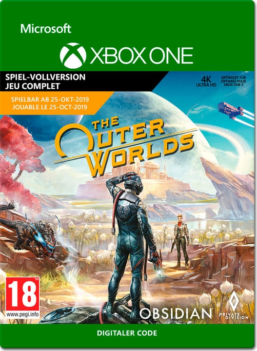 Xbox One - The Outer Worlds Box 785300148232 Bild Nr. 1