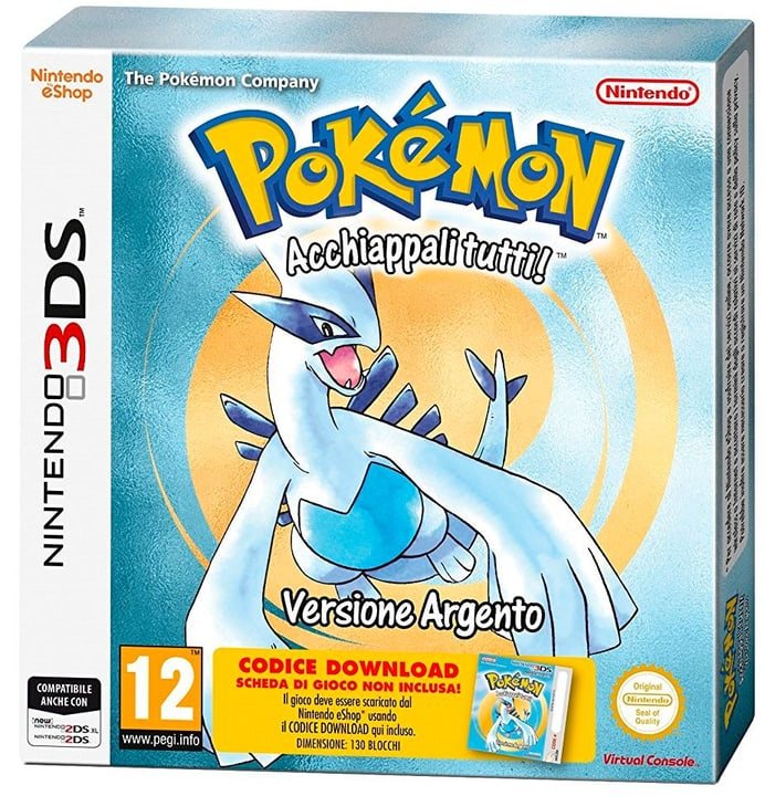3DS - Pokémon Argento (Codice Download) 785300129647 Photo no. 1