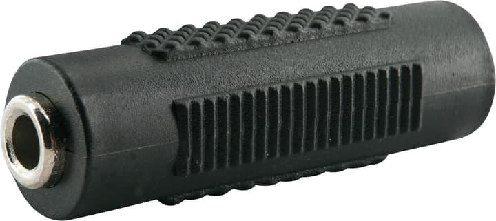 Adattatore audio jack 3.5mm nero Schwaiger 613182500000 N. figura 1