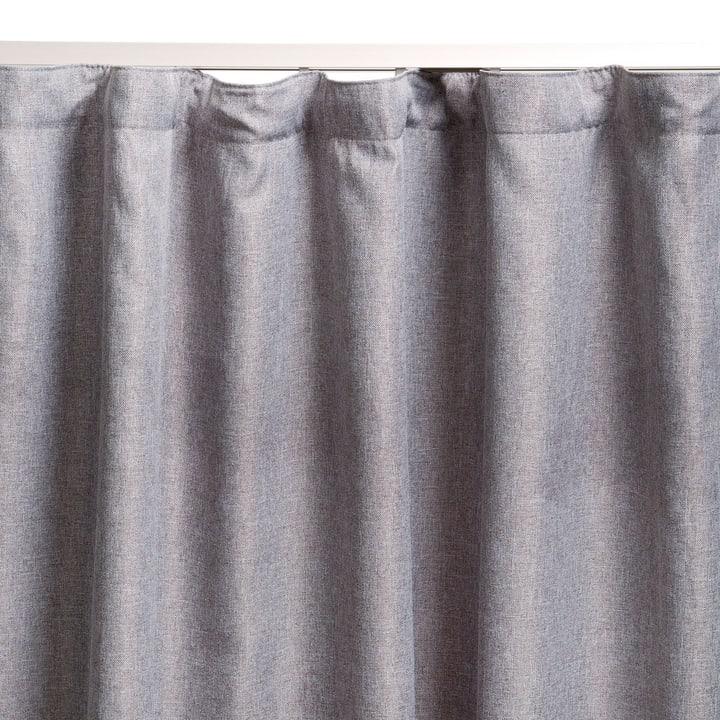 GARNET Rideau prêt à poser blackout 372041200000 Couleur Argenté Dimensions L: 140.0 cm x H: 250.0 cm Photo no. 1