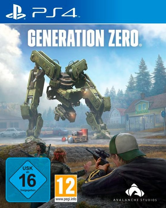 PS4 - Generation Zero Box 785300141479 Langue Allemand Plate-forme Sony PlayStation 4 Photo no. 1