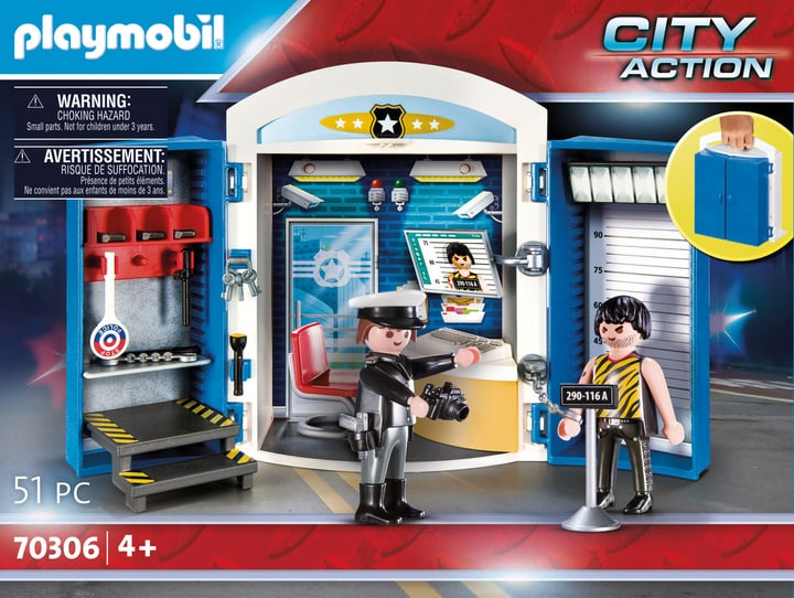 Commissariat Police 70306 Playmobil 747344900000 Photo no. 1