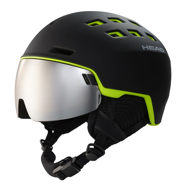 Radar Visor Wintersport Helm Head 461898761820 Farbe schwarz Grösse 60-63 Bild Nr. 1