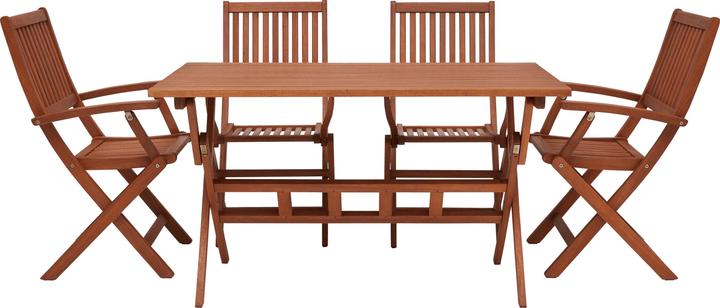 MULADO SET Tisch inkl. 4 Stühle 408013900000 Bild Nr. 1