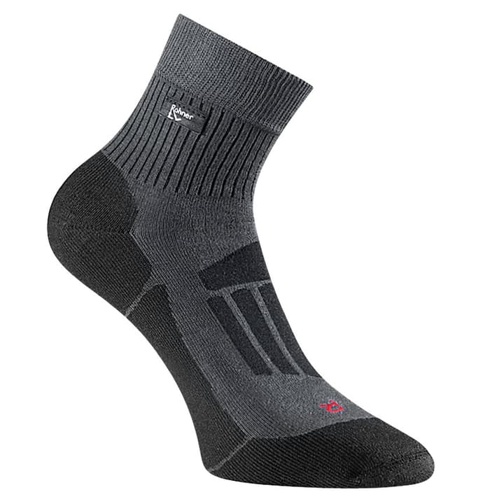 Trek'n Travel l/r Chaussettes de trekking unisexe Rohner 497115400186 Taille / Couleur 36-38 - antracite Photo no. 1