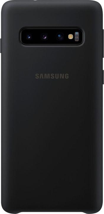 Silicone Cover Black Custodia Samsung 785300142444 N. figura 1