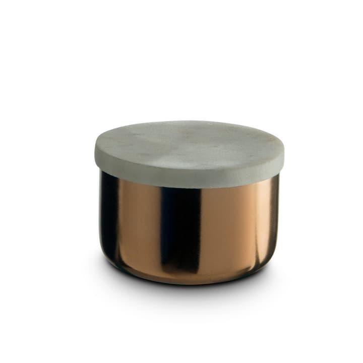 MARBLE Aufbewahrungsdose 386212100000 Grösse B: 8.0 cm x T: 8.0 cm x H: 5.0 cm Farbe Kupferfarben Bild Nr. 1