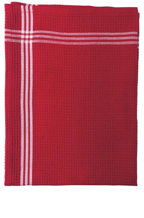 LINA Torchon de cuisine 441058100130 Couleur Rouge Dimensions L: 50.0 cm x H: 70.0 cm Photo no. 1