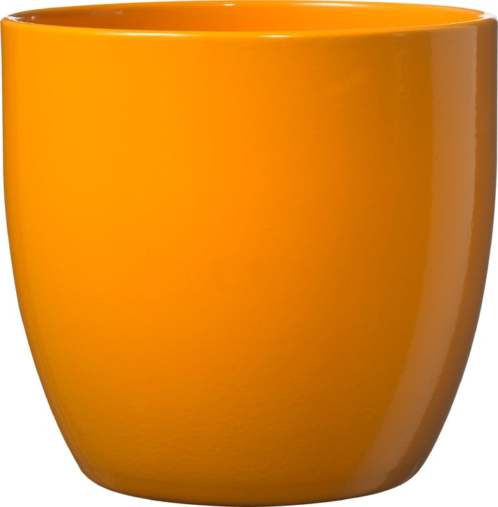 Cache-pot Basel Soendgen 655982100000 Taille ø: 16.0 cm x H: 15.0 cm Couleur Orange Photo no. 1