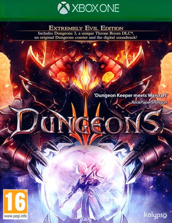 Xbox One - Dungeons 3 I Physisch (Box) 785300130009 Bild Nr. 1