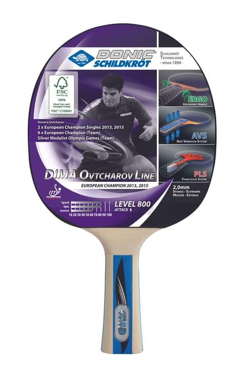 Dima Ovtcharov 800 FSC Tischtennis- Racket Schildkröt 491639100000 N. figura 1