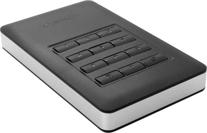 """Store 'n' Go secure portable SSD 256GB 2.5"""" USB C con tastiera numerica Hard disk Esterno SSD Verbatim 798258000000 N. figura 1"""