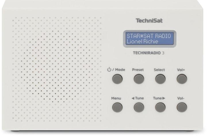 Techniradio 3 - Blanc Radio DAB+ Technisat 785300149726 Photo no. 1